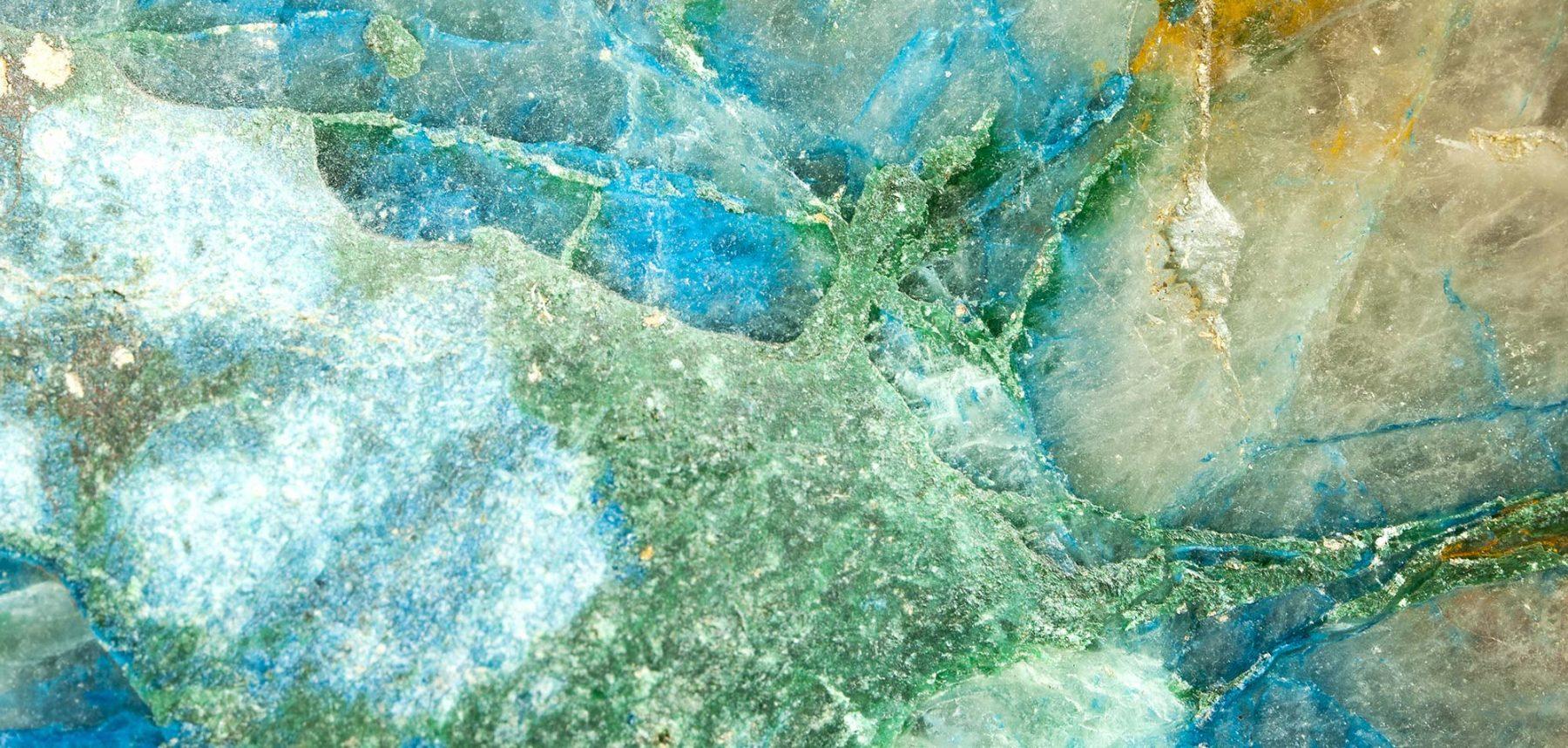 Kristall Makrofotografie